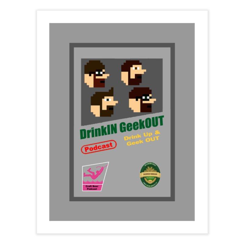 DiGo Box Art Home Fine Art Print by DrinkIN GeekOUT's Artist Shop