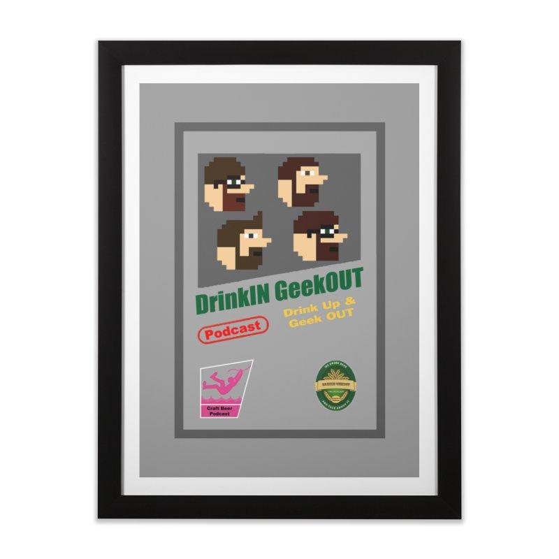 DiGo Box Art Home Framed Fine Art Print by DrinkIN GeekOUT's Artist Shop