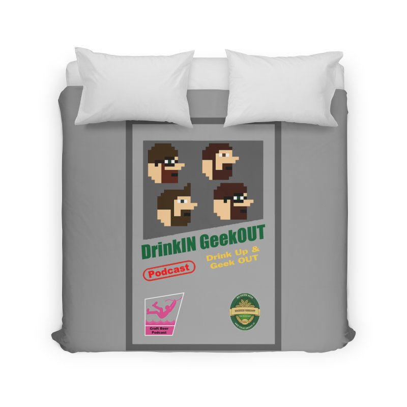 DiGo Box Art Home Duvet by DrinkIN GeekOUT's Artist Shop