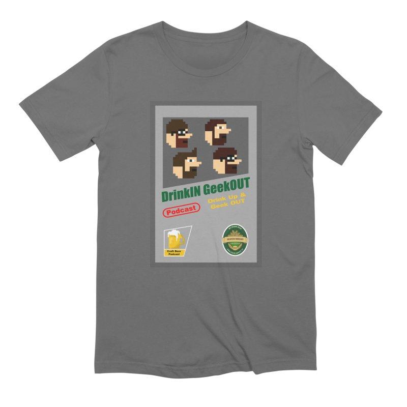 DiGo Box Art Men's T-Shirt by DrinkIN GeekOUT's Artist Shop