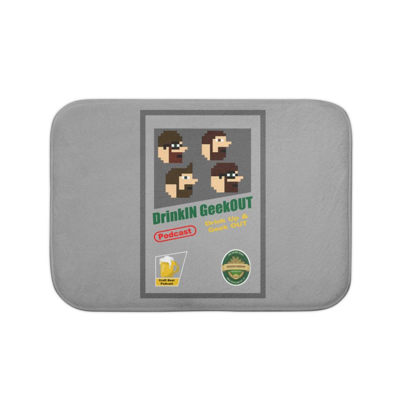 DiGo Box Art Home Bath Mat by DrinkIN GeekOUT's Artist Shop