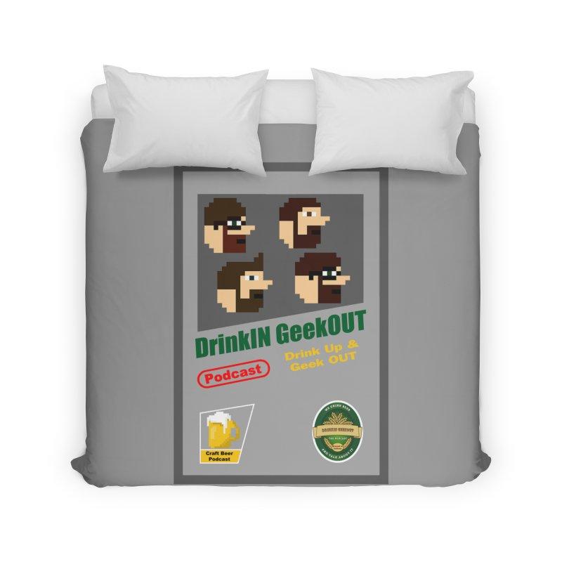 DiGo Box Art Home Duvet by DrinkIN GeekOUT's Artist Shop