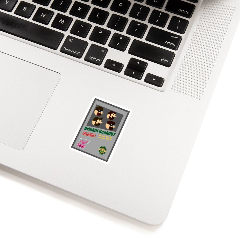 DiGo Box Art Accessories Sticker by DrinkIN GeekOUT's Artist Shop