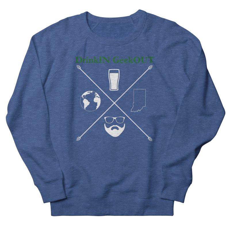 White Hopster Women's Sweatshirt by DrinkIN GeekOUT's Artist Shop