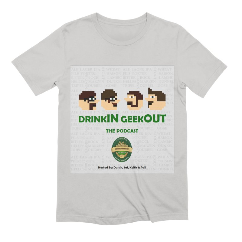 Movember Men's Extra Soft T-Shirt by DrinkIN GeekOUT's Artist Shop