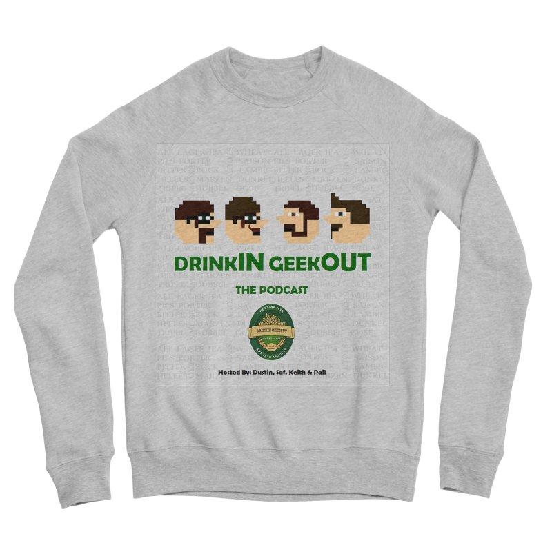Movember Men's Sponge Fleece Sweatshirt by DrinkIN GeekOUT's Artist Shop