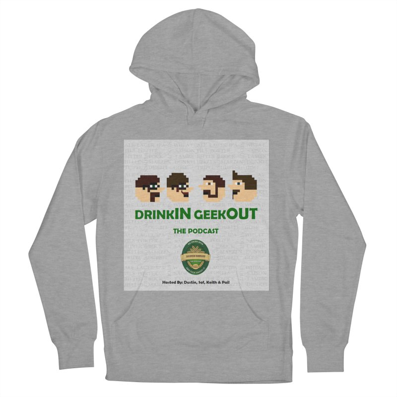 Movember Women's French Terry Pullover Hoody by DrinkIN GeekOUT's Artist Shop