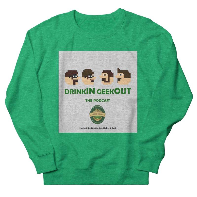 Movember Women's French Terry Sweatshirt by DrinkIN GeekOUT's Artist Shop
