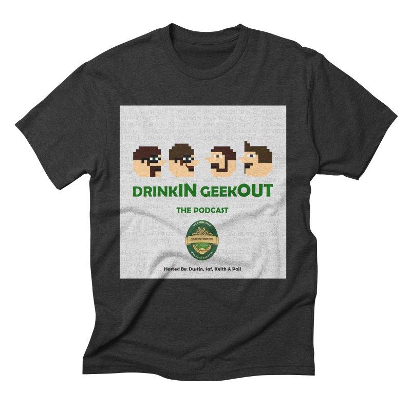 Movember Men's Triblend T-Shirt by DrinkIN GeekOUT's Artist Shop