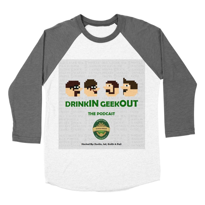 Movember Women's Baseball Triblend Longsleeve T-Shirt by DrinkIN GeekOUT's Artist Shop