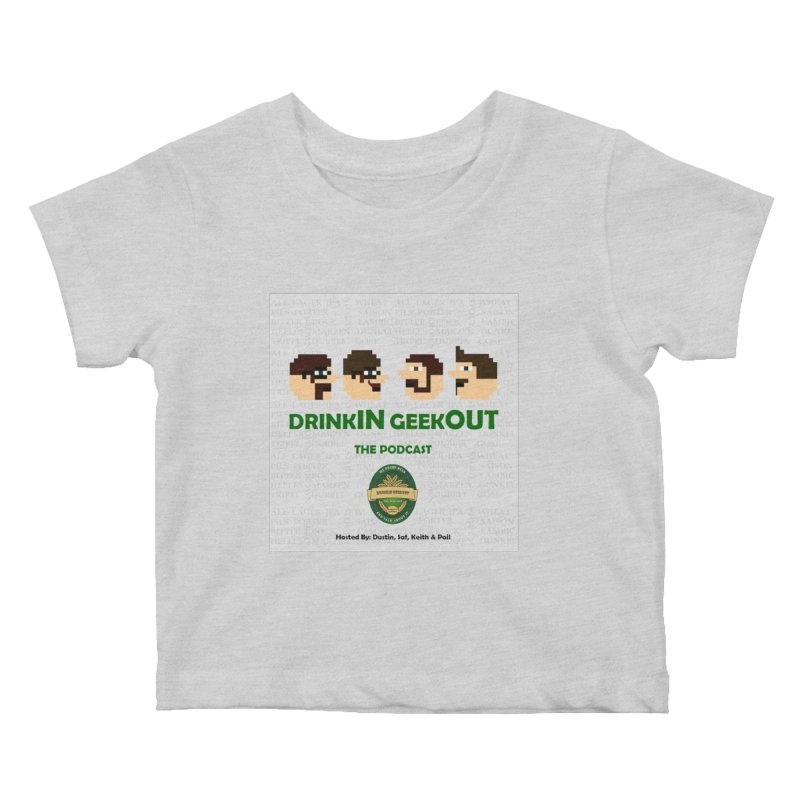 Movember Kids Baby T-Shirt by DrinkIN GeekOUT's Artist Shop