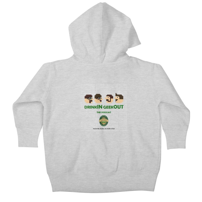 Movember Kids Baby Zip-Up Hoody by DrinkIN GeekOUT's Artist Shop