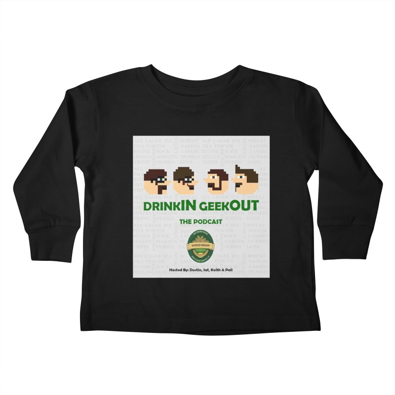 Movember Kids Toddler Longsleeve T-Shirt by DrinkIN GeekOUT's Artist Shop