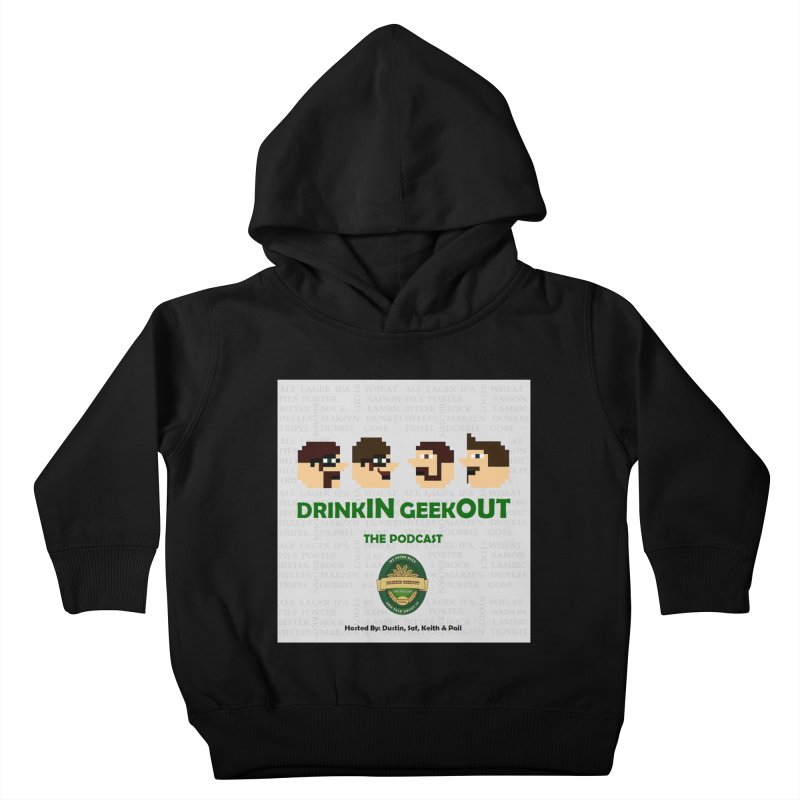Movember Kids Toddler Pullover Hoody by DrinkIN GeekOUT's Artist Shop