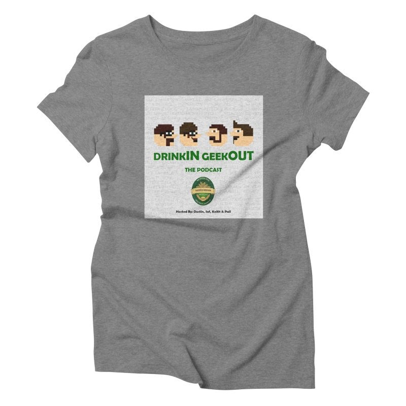 Movember Women's Triblend T-Shirt by DrinkIN GeekOUT's Artist Shop