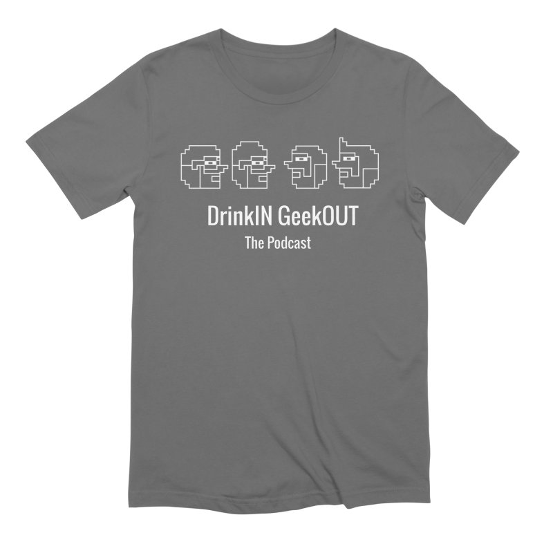 Stick Figure Family Men's T-Shirt by DrinkIN GeekOUT's Artist Shop