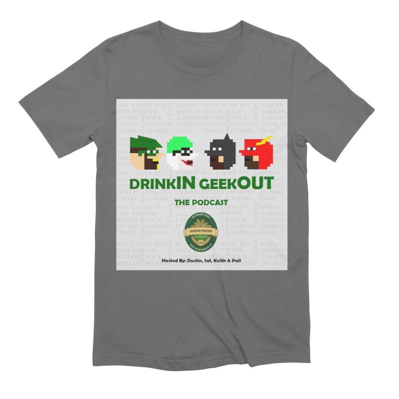 DC DiGo Men's T-Shirt by DrinkIN GeekOUT's Artist Shop