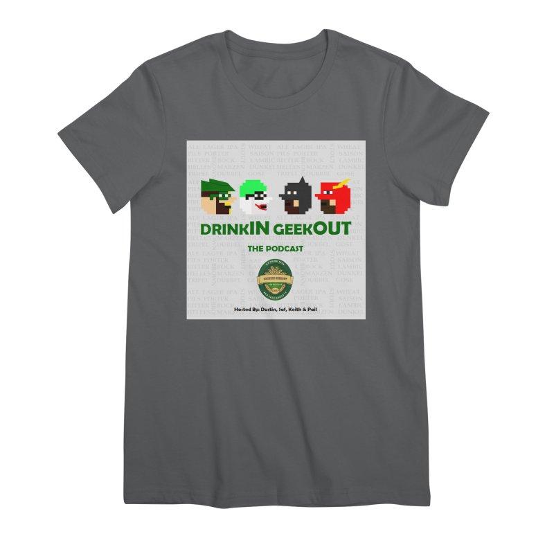 DC DiGo Women's Premium T-Shirt by DrinkIN GeekOUT's Artist Shop