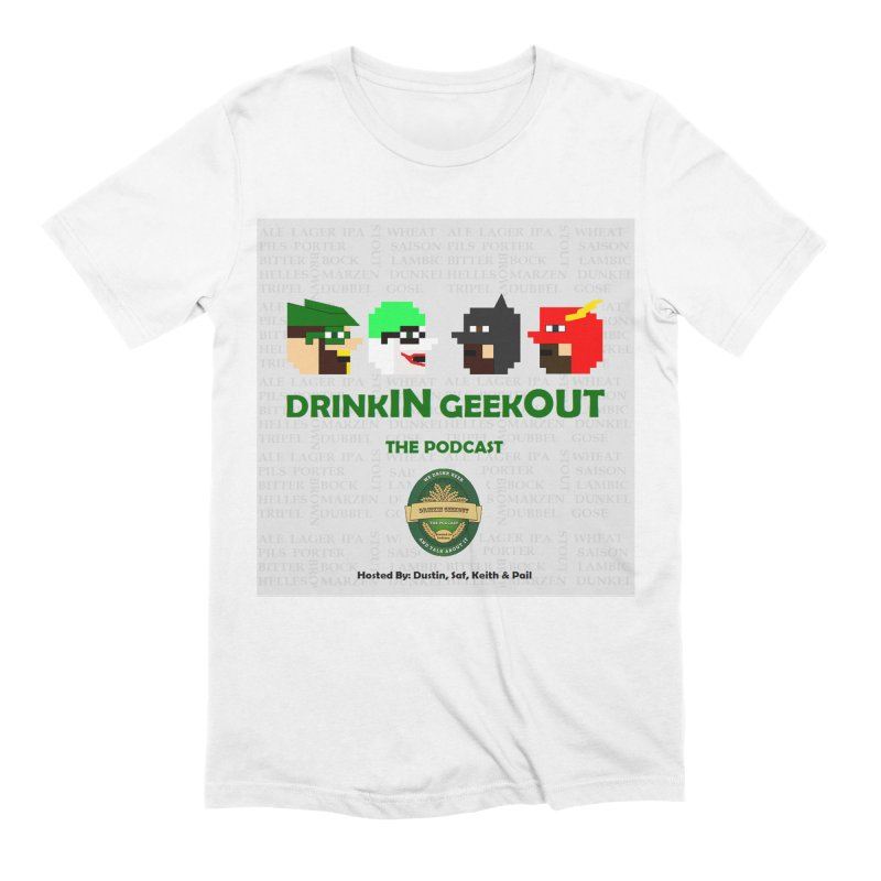 DC DiGo Men's Extra Soft T-Shirt by DrinkIN GeekOUT's Artist Shop