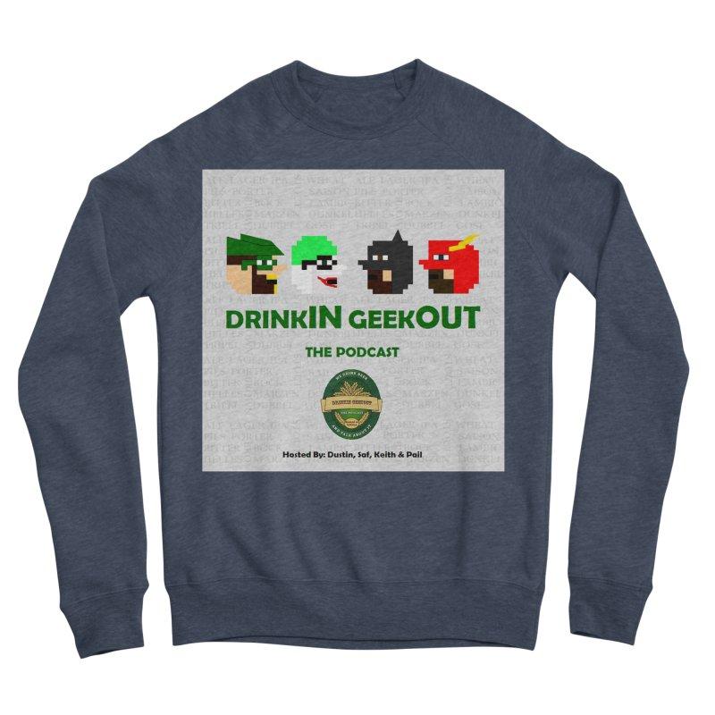 DC DiGo Women's Sponge Fleece Sweatshirt by DrinkIN GeekOUT's Artist Shop