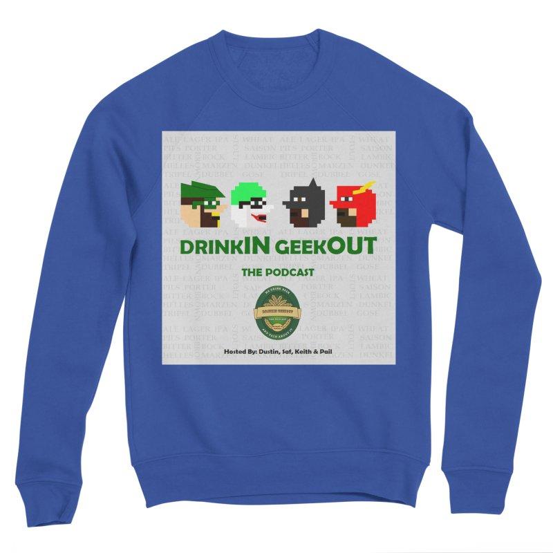 DC DiGo Men's Sponge Fleece Sweatshirt by DrinkIN GeekOUT's Artist Shop