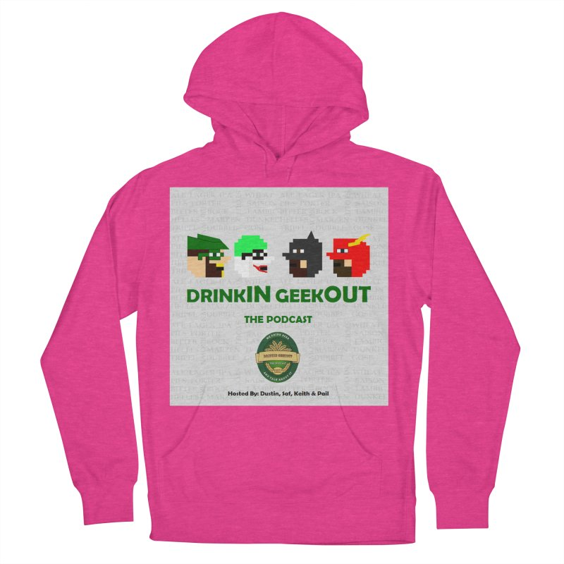 DC DiGo Women's French Terry Pullover Hoody by DrinkIN GeekOUT's Artist Shop