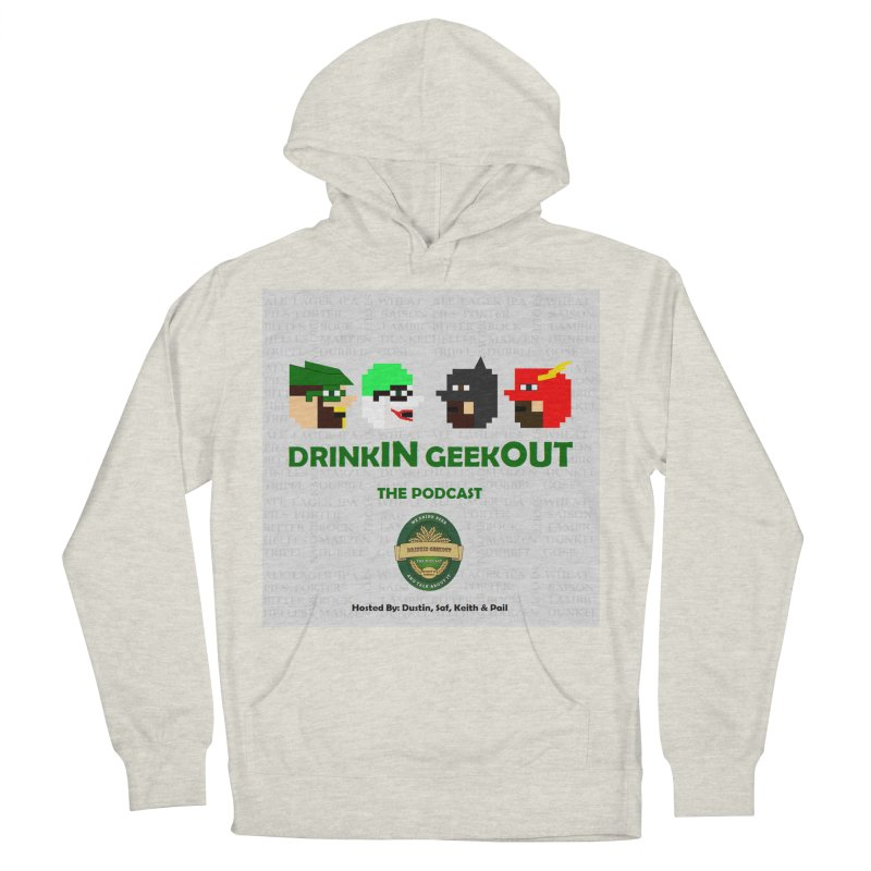 DC DiGo Men's French Terry Pullover Hoody by DrinkIN GeekOUT's Artist Shop