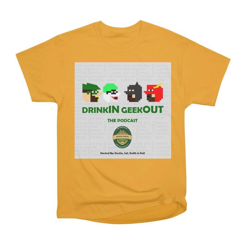 DC DiGo Men's Heavyweight T-Shirt by DrinkIN GeekOUT's Artist Shop
