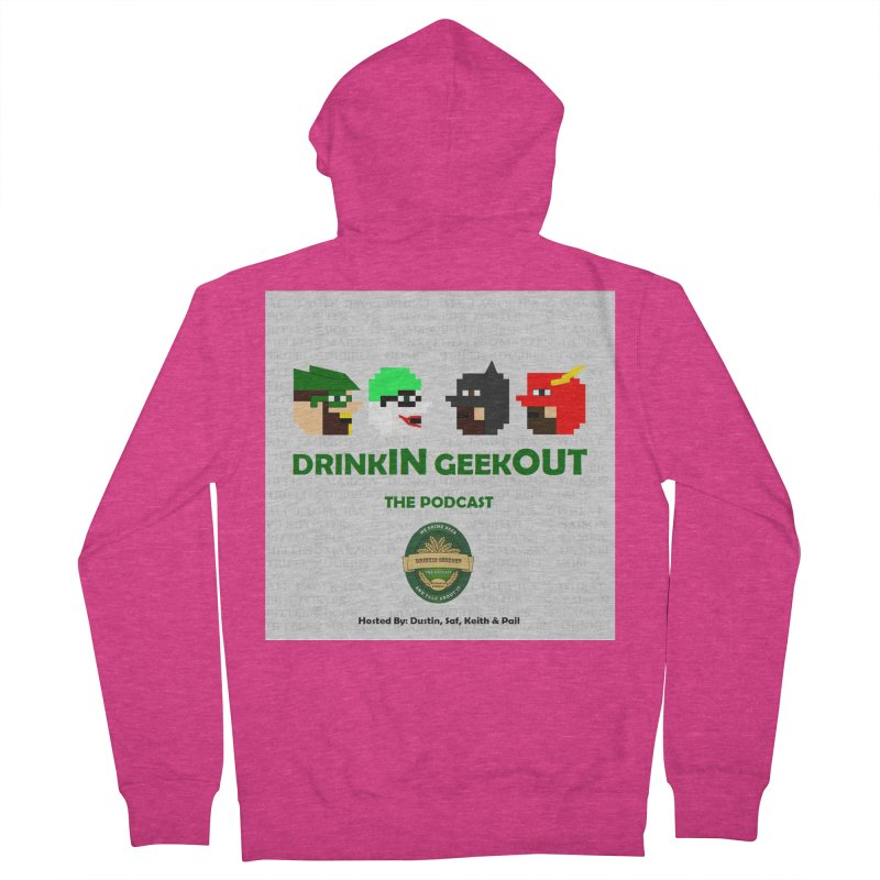 DC DiGo Women's French Terry Zip-Up Hoody by DrinkIN GeekOUT's Artist Shop