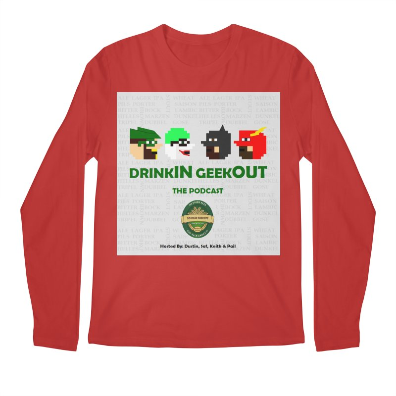 DC DiGo Men's Regular Longsleeve T-Shirt by DrinkIN GeekOUT's Artist Shop