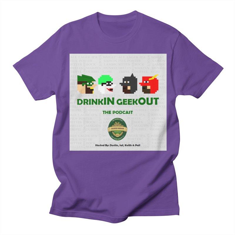 DC DiGo Women's Regular Unisex T-Shirt by DrinkIN GeekOUT's Artist Shop