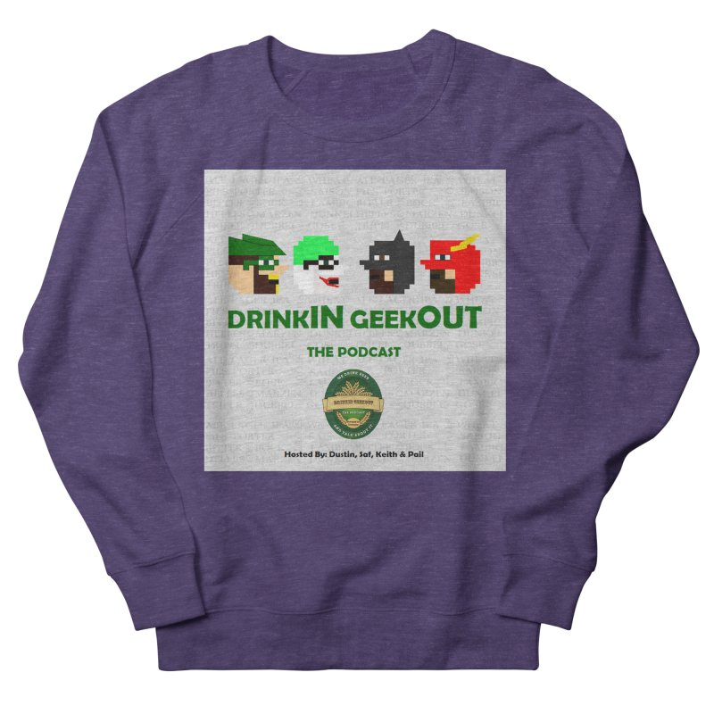 DC DiGo Women's French Terry Sweatshirt by DrinkIN GeekOUT's Artist Shop
