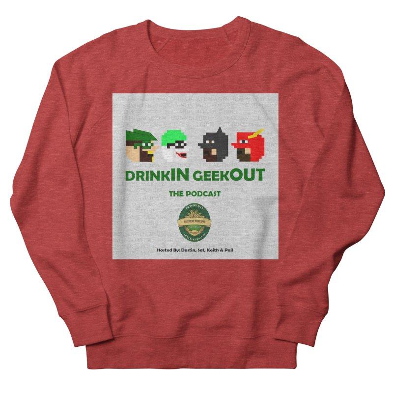 DC DiGo Men's French Terry Sweatshirt by DrinkIN GeekOUT's Artist Shop