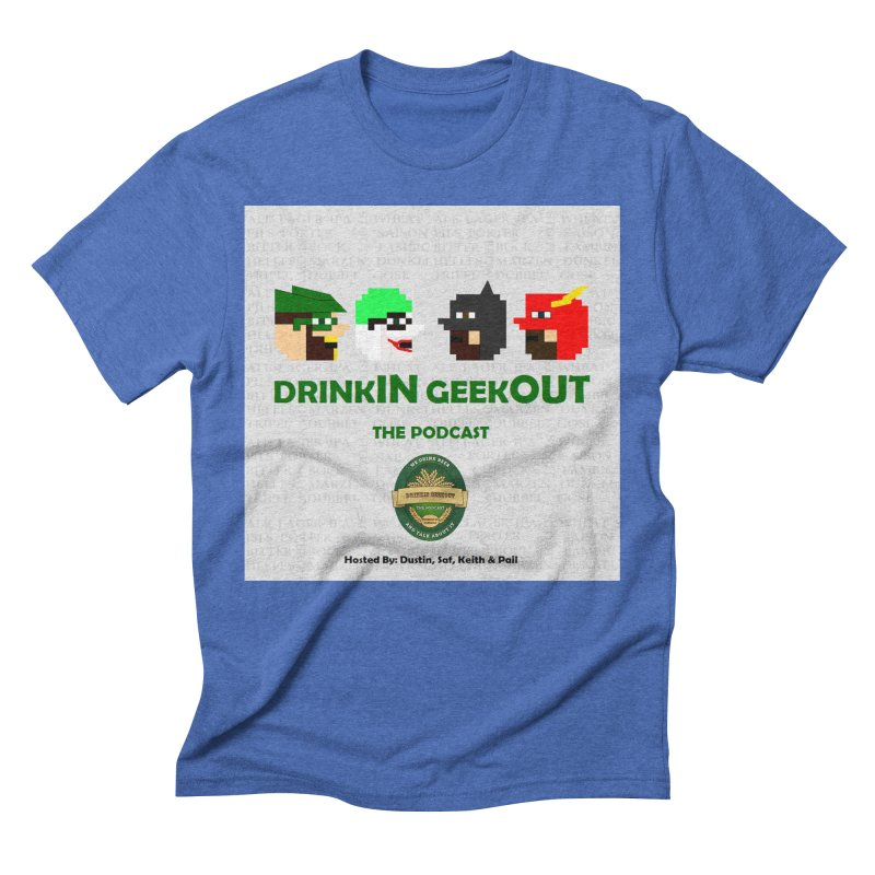 DC DiGo Men's Triblend T-Shirt by DrinkIN GeekOUT's Artist Shop