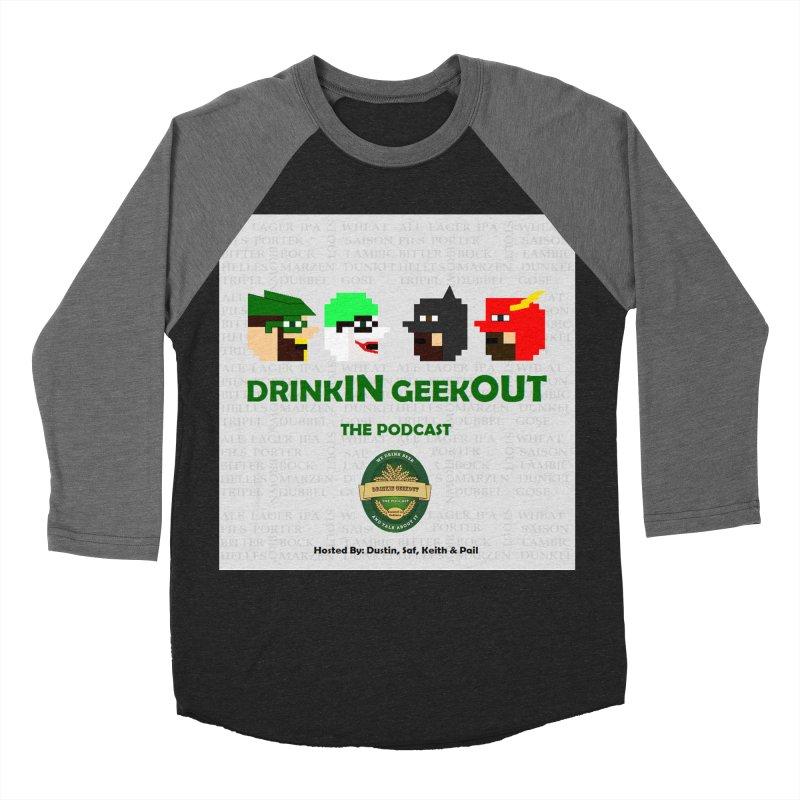 DC DiGo Women's Baseball Triblend Longsleeve T-Shirt by DrinkIN GeekOUT's Artist Shop