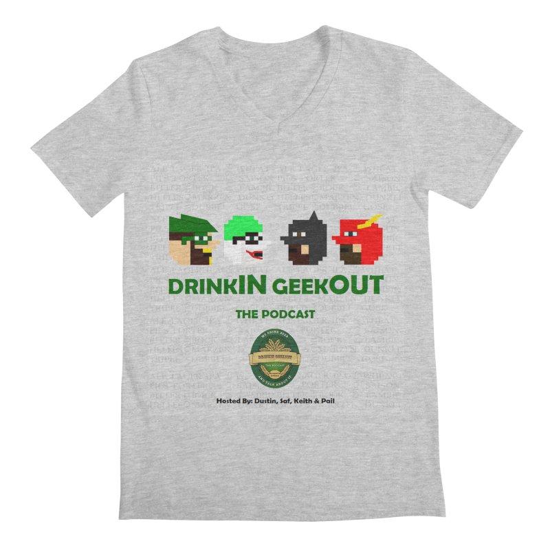 DC DiGo Men's Regular V-Neck by DrinkIN GeekOUT's Artist Shop