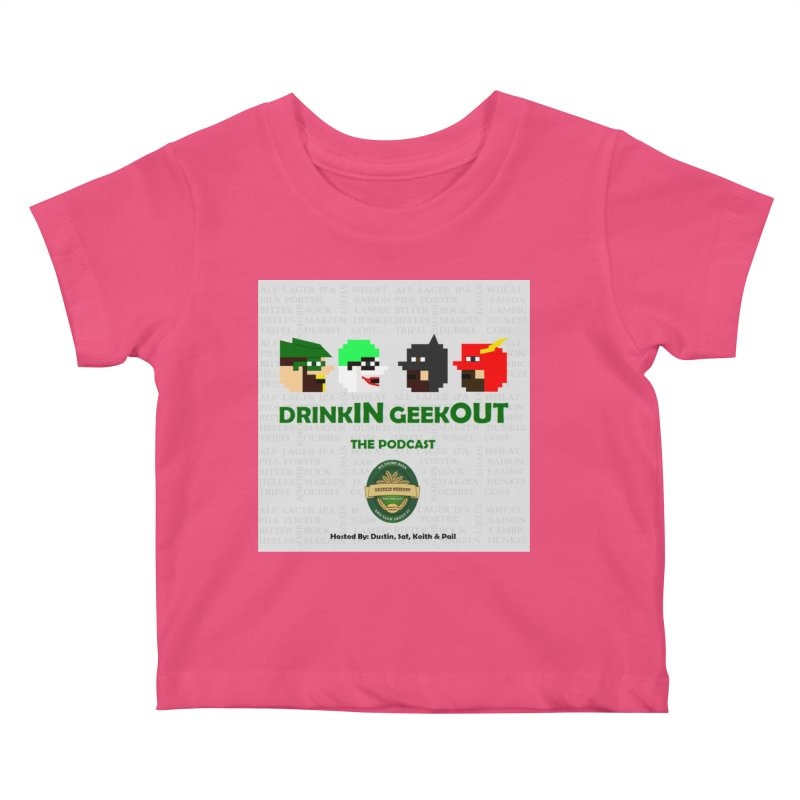 DC DiGo Kids Baby T-Shirt by DrinkIN GeekOUT's Artist Shop
