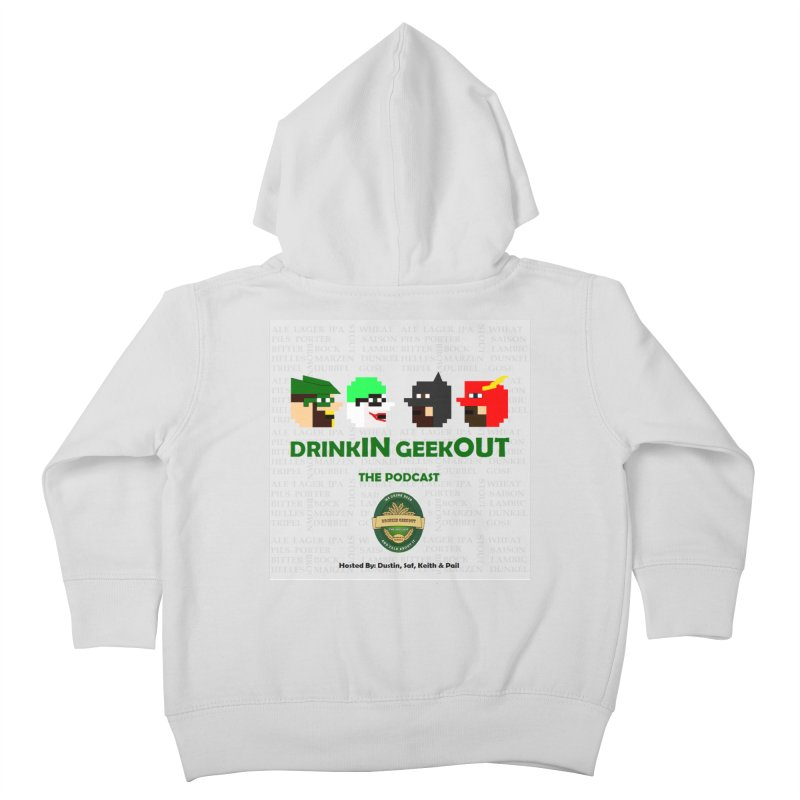 DC DiGo Kids Toddler Zip-Up Hoody by DrinkIN GeekOUT's Artist Shop