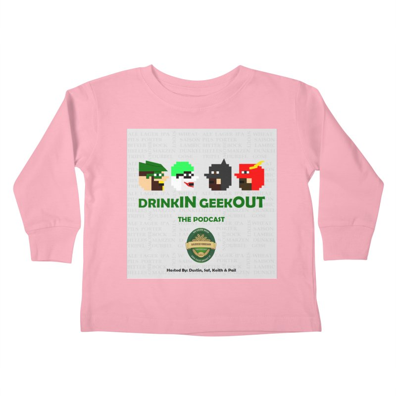 DC DiGo Kids Toddler Longsleeve T-Shirt by DrinkIN GeekOUT's Artist Shop
