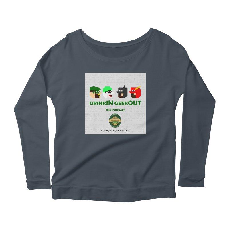 DC DiGo Women's Scoop Neck Longsleeve T-Shirt by DrinkIN GeekOUT's Artist Shop
