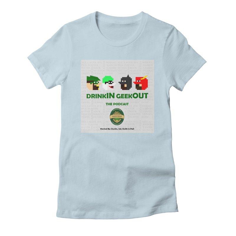 DC DiGo Women's Fitted T-Shirt by DrinkIN GeekOUT's Artist Shop