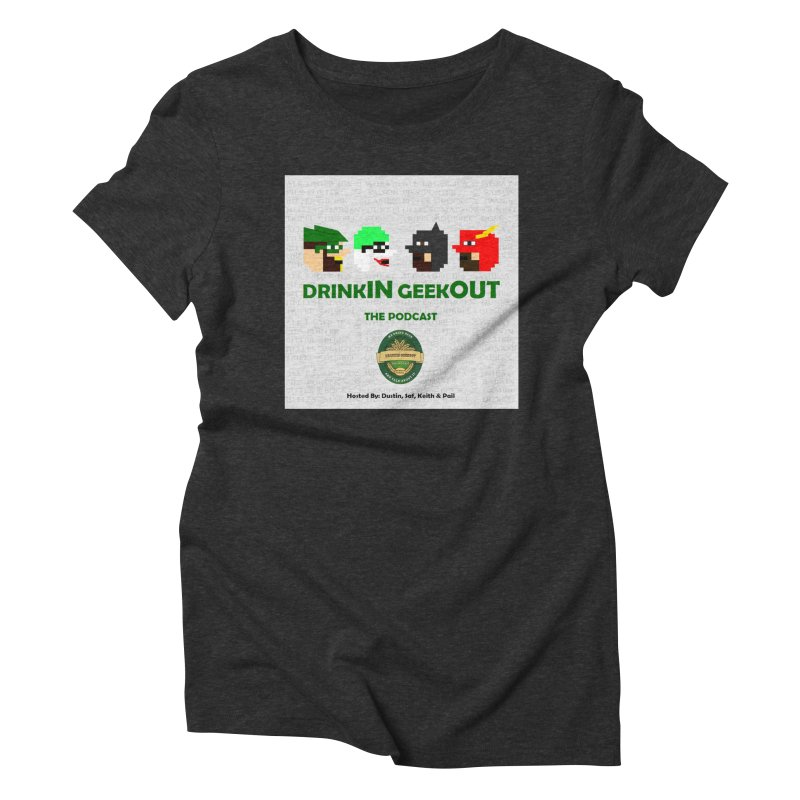 DC DiGo Women's Triblend T-Shirt by DrinkIN GeekOUT's Artist Shop