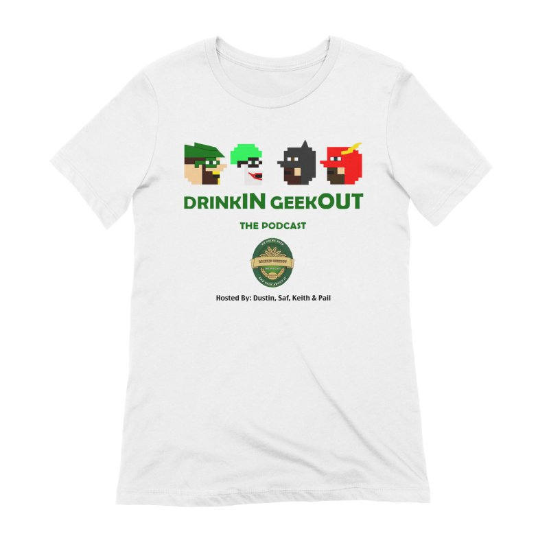 DC DiGo (no fill) Women's Extra Soft T-Shirt by DrinkIN GeekOUT's Artist Shop