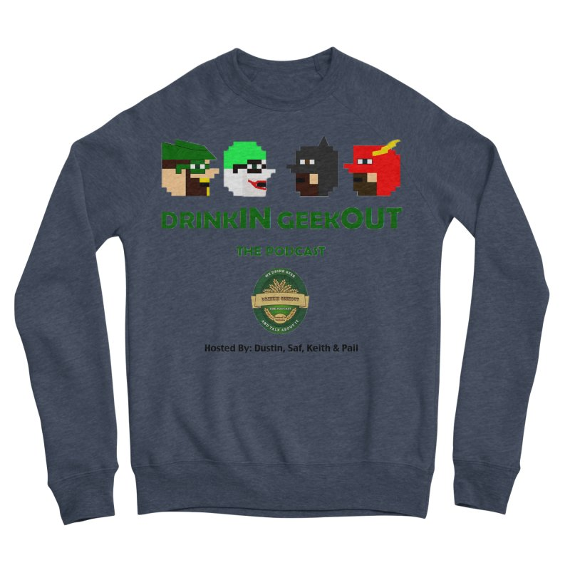 DC DiGo (no fill) Women's Sponge Fleece Sweatshirt by DrinkIN GeekOUT's Artist Shop