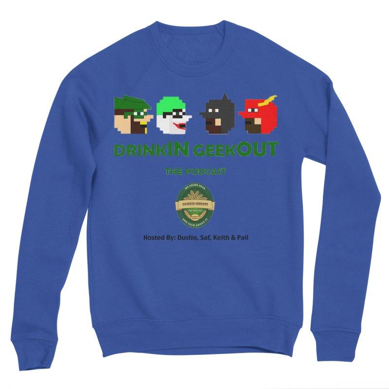 DC DiGo (no fill) Men's Sponge Fleece Sweatshirt by DrinkIN GeekOUT's Artist Shop