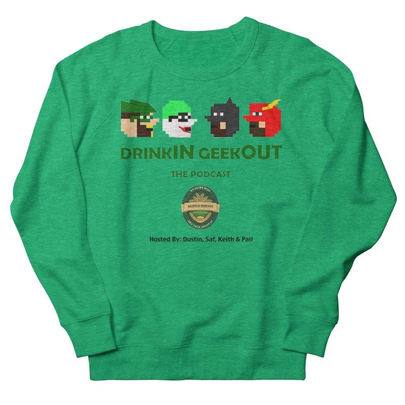 DC DiGo (no fill) Women's Sweatshirt by DrinkIN GeekOUT's Artist Shop