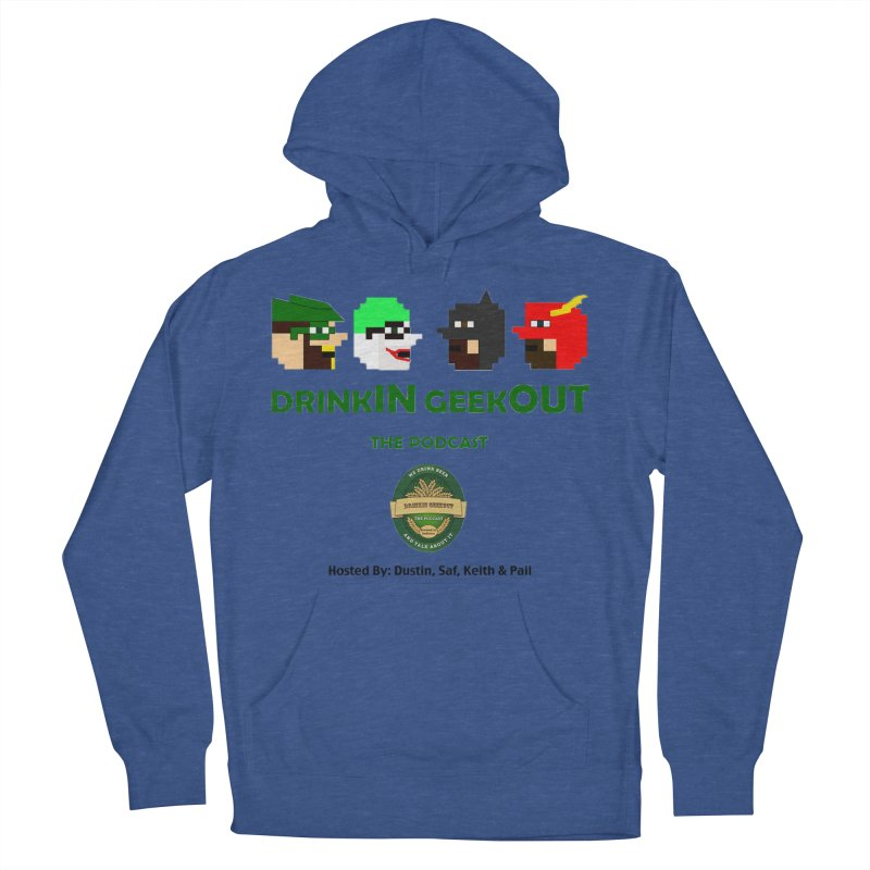 DC DiGo (no fill) Women's French Terry Pullover Hoody by DrinkIN GeekOUT's Artist Shop