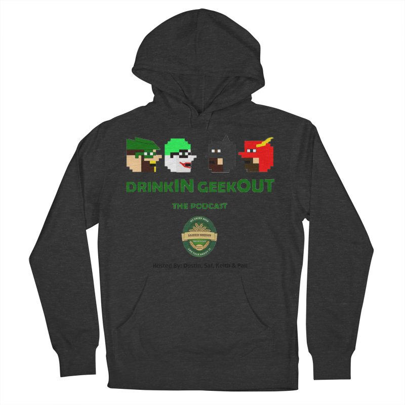 DC DiGo (no fill) Men's French Terry Pullover Hoody by DrinkIN GeekOUT's Artist Shop
