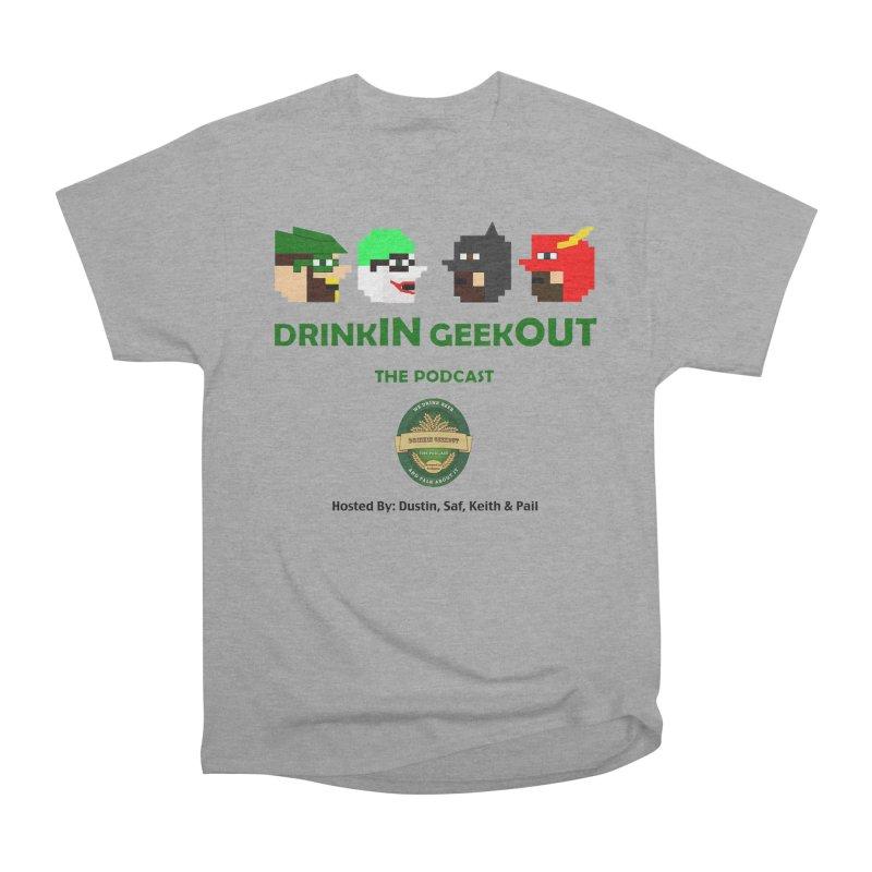 DC DiGo (no fill) Men's Heavyweight T-Shirt by DrinkIN GeekOUT's Artist Shop