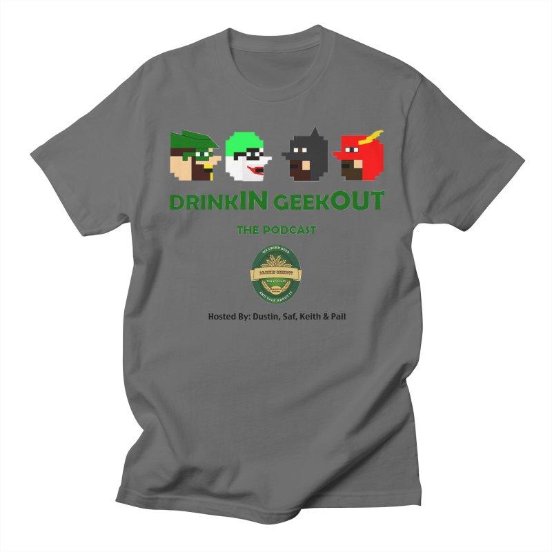 DC DiGo (no fill) Men's T-Shirt by DrinkIN GeekOUT's Artist Shop